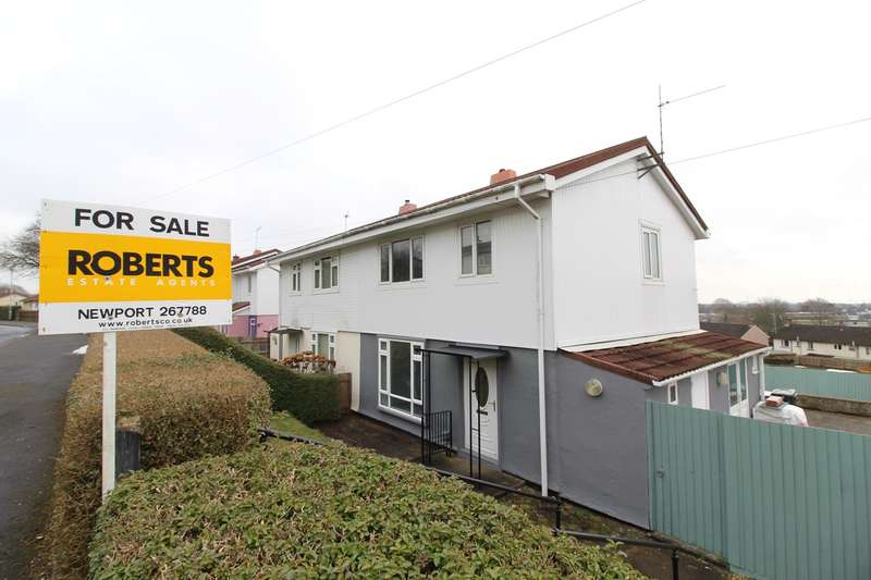 3 Bedrooms Semi Detached House for sale in Fort View, Bassaleg, Newport, NP10