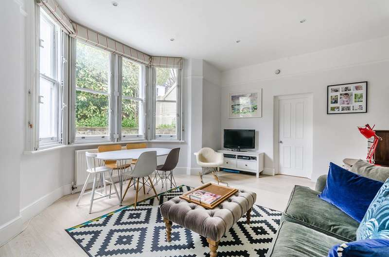 2 Bedrooms Flat for sale in Rockley Road, Brook Green, W14