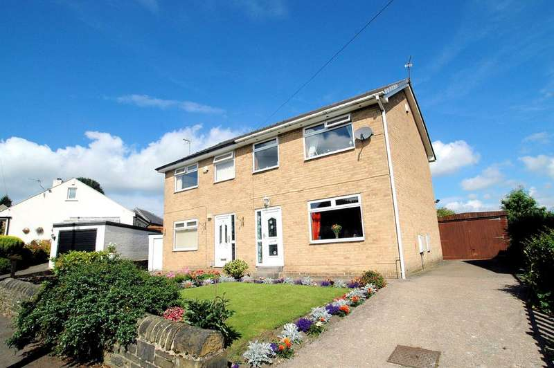 3 Bedrooms Semi Detached House for sale in 26 Sandbeds Road, Pellon, Halifax HX2