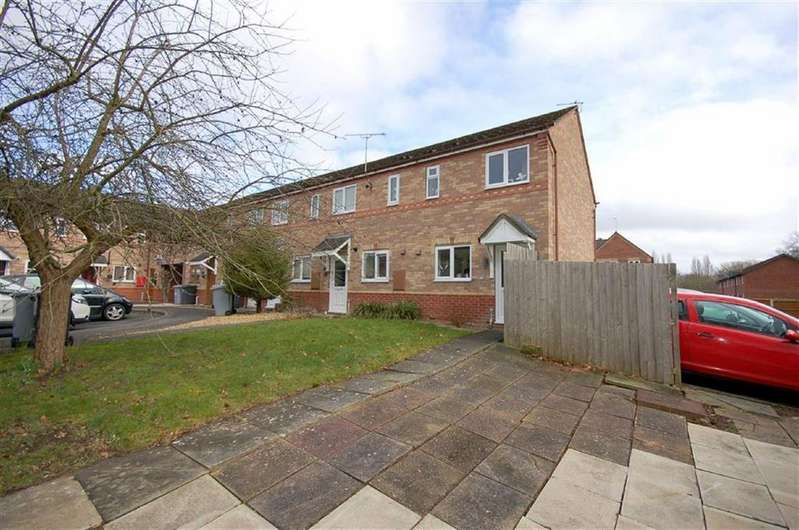 2 Bedrooms End Of Terrace House for sale in Probert Close, Crewe