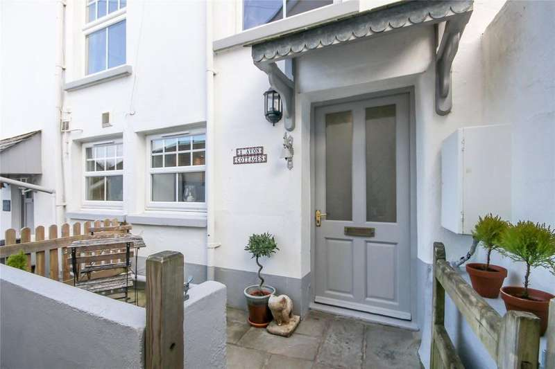 2 Bedrooms End Of Terrace House for sale in Avon Cottages, Fore Street, Aveton Gifford, Kingsbridge, TQ7