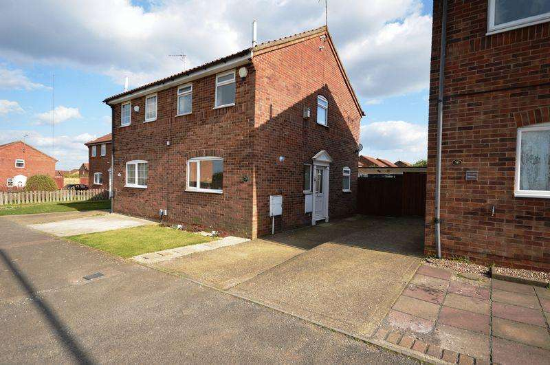 2 Bedrooms Semi Detached House for sale in Kestrel Way, Luton