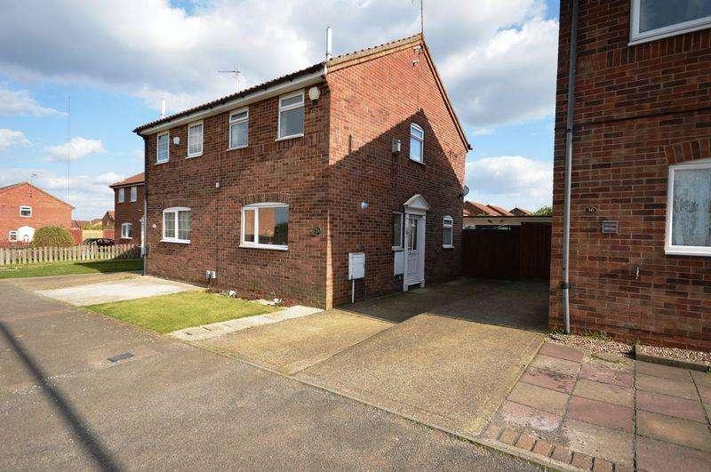 2 Bedrooms Semi Detached House for sale in Kestrel Way, Luton