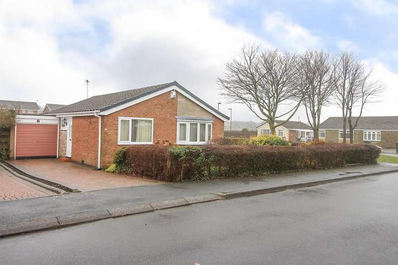 2 Bedrooms Detached Bungalow for sale in Arundel Close, Wideopen, Newcastle Upon Tyne