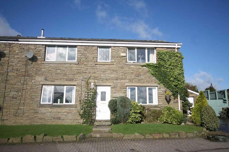 4 Bedrooms Semi Detached House for sale in Cowm Top Farm, Whitworth
