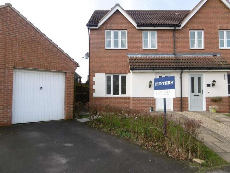 3 Bedrooms Semi Detached House for sale in Nursery Vale, Morton, Gainsborough, DN21 3GE
