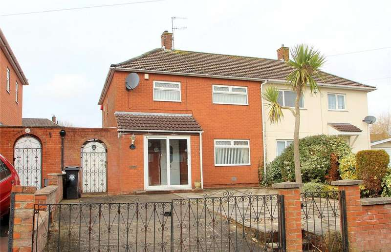 3 Bedrooms Semi Detached House for sale in Millground Road, Withywood, Bristol, BS13