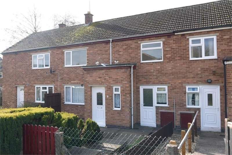 3 Bedrooms Terraced House for sale in Dunley Way, Lutterworth, Leicestershire