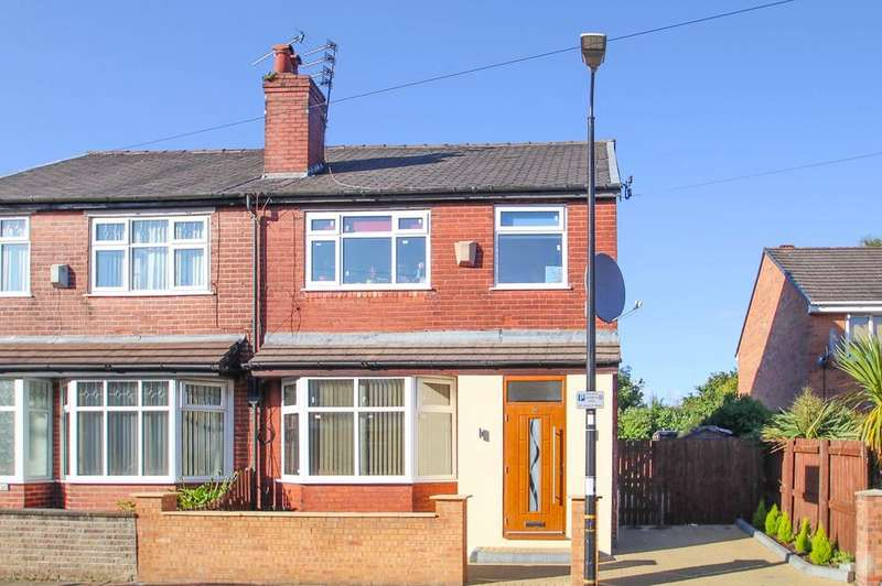 3 Bedrooms Semi Detached House for sale in Beresford Road, Stretford, Manchester, M32