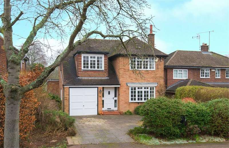 4 Bedrooms Detached House for sale in Highfield, Letchworth Garden City, SG6
