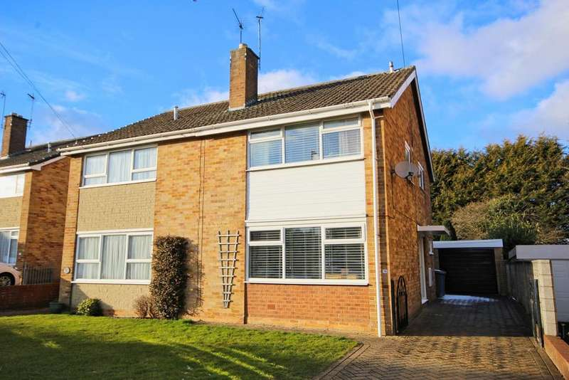 3 Bedrooms Semi Detached House for sale in Normandy Avenue, Beverley, HU17