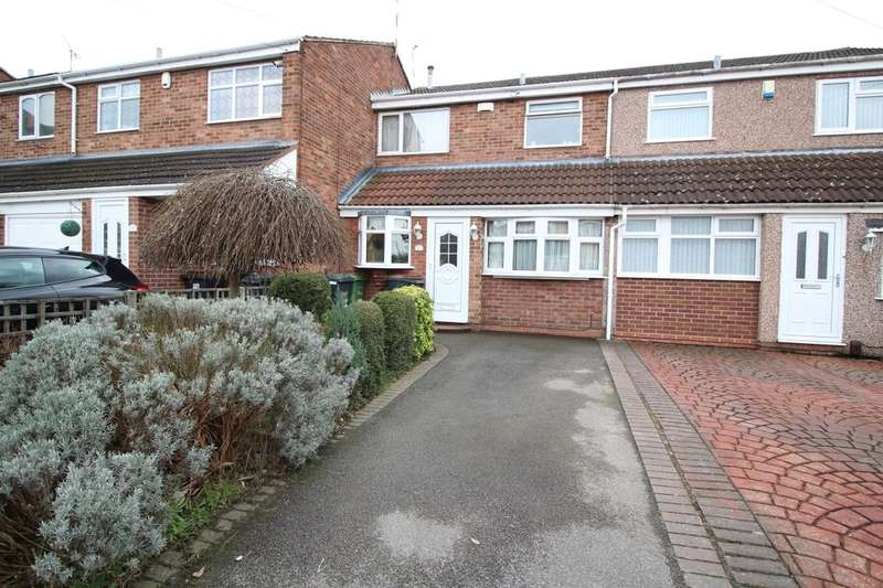 3 Bedrooms Terraced House for sale in Joseph Luckman Road, Bedworth, CV12