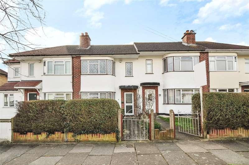 2 Bedrooms Terraced House for sale in Lynmouth Drive, Ruislip, Middlesex, HA4
