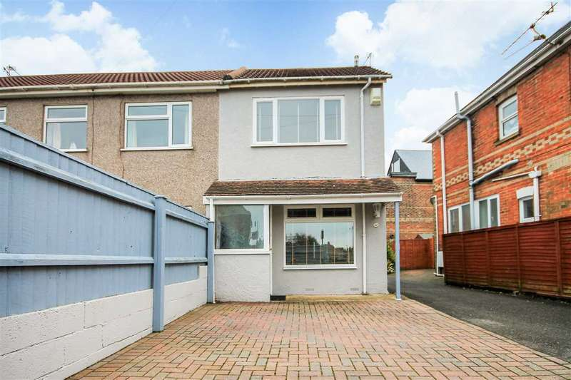 2 Bedrooms Semi Detached House for sale in Albert Road, Poole