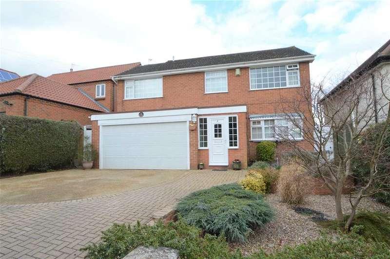 4 Bedrooms Detached House for sale in Delville Avenue, Keyworth, Nottingham