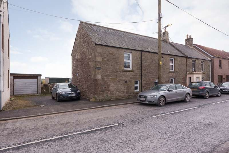 3 Bedrooms Semi-detached Villa House for sale in Main Street East End, Chirnside, Duns, Borders, TD11 3XS
