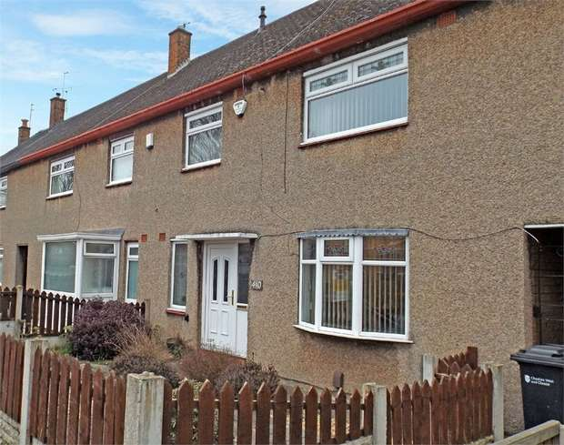 3 Bedrooms Terraced House for sale in Sutton Way, Great Sutton, Ellesmere Port, Cheshire