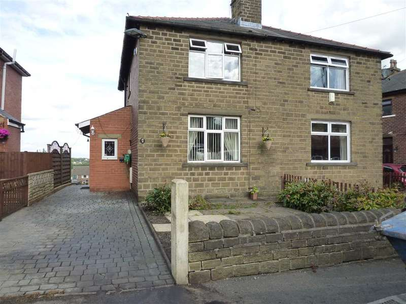 2 Bedrooms Semi Detached House for sale in Windsor Road, Cowlersley, Huddersfield