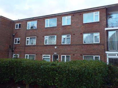 2 Bedrooms Flat for sale in Abbey Mansions, Silver Birch Road, Birmingham, West Midlands