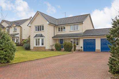 4 Bedrooms Detached House for sale in Rosebank Place, Dullatur