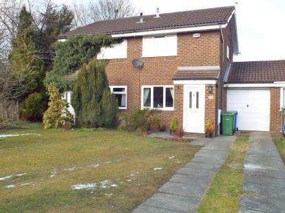2 Bedrooms Semi Detached House for sale in St. Asaph Drive, Callands, Warrington, Cheshire