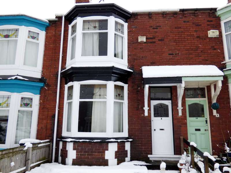 3 Bedrooms Terraced House for sale in Rockliffe Road, Middlesbrough