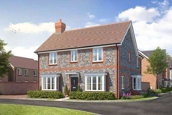 5 Bedrooms Detached House for sale in Cresswell Park, Roundstone Lane, Angmering, BN16