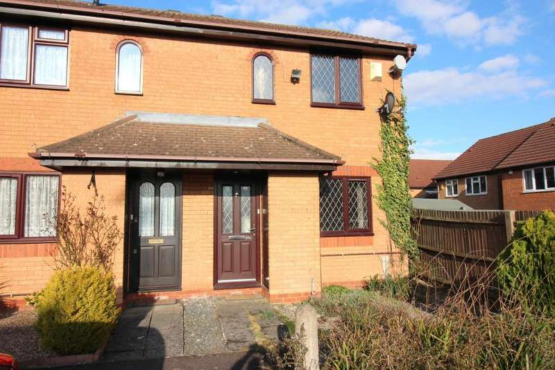 2 Bedrooms End Of Terrace House for sale in Furze Close, Luton, Bedfordshire, LU2 7UB