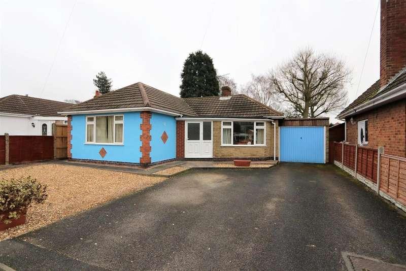 2 Bedrooms Bungalow for sale in Fenton Avenue, Blackfordby, DE11 8AR