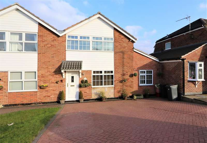 3 Bedrooms Detached House for sale in Malvern Crescent, Ashby-De-La-Zouch, ...