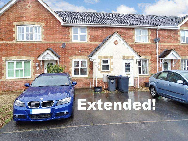 2 Bedrooms Terraced House for sale in Daisy Close, Melksham, Wiltshire