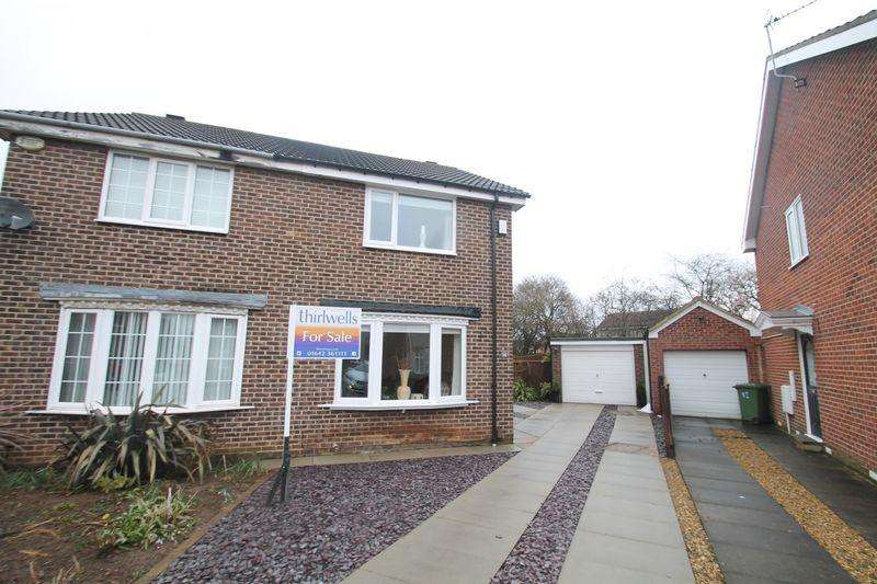 2 Bedrooms Semi Detached House for sale in Shildon Close, Billingham