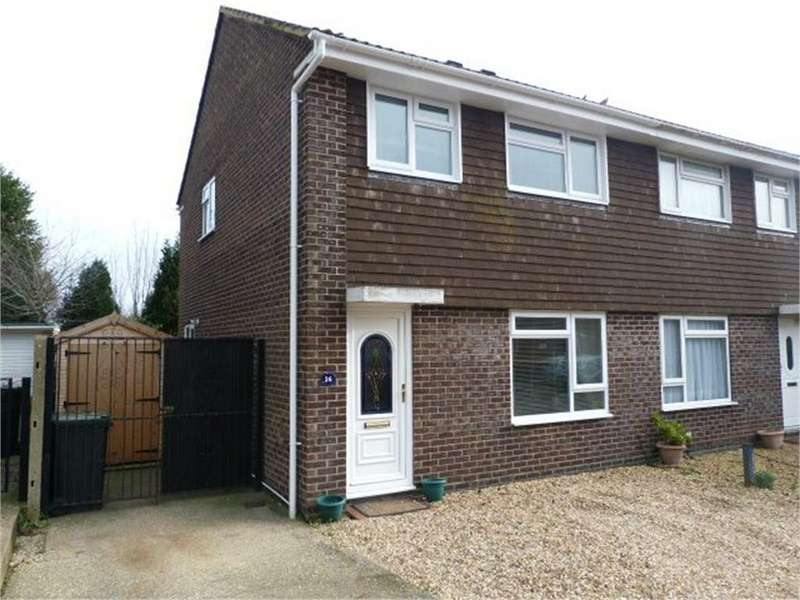 3 Bedrooms Semi Detached House for sale in Huntingdon Gardens, Christchurch, Dorset