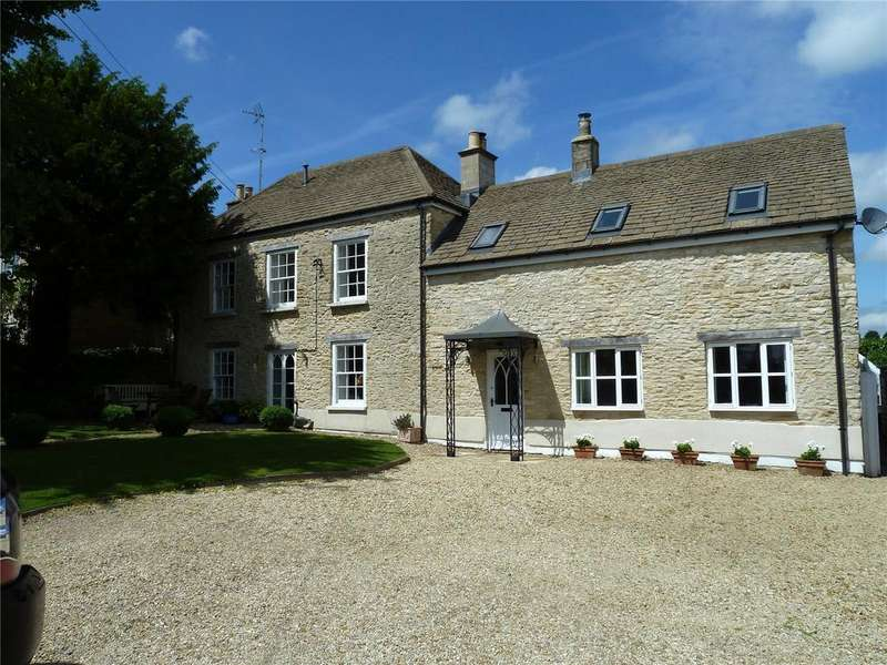 5 Bedrooms Detached House for sale in Nupend, Horsley, Stroud, Gloucestershire, GL6