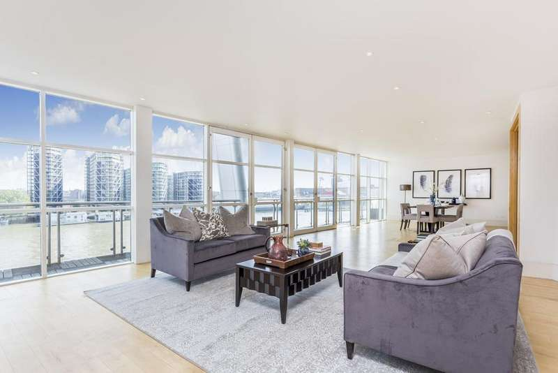 5 Bedrooms Flat for rent in The Icon Apartments, Grosvenor Road, Pimlico, London, SW1V