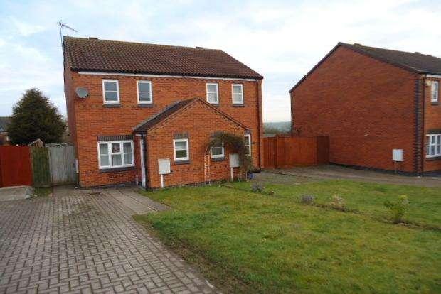 2 Bedrooms Semi Detached House for sale in Burdock Close, Hamilton, Leicester, LE5