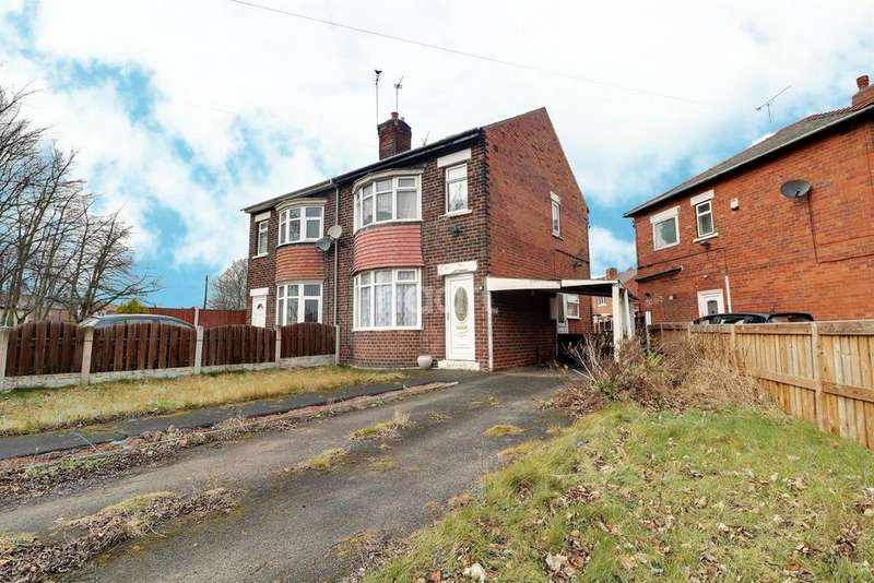 3 Bedrooms Semi Detached House for sale in Sledmere Road, Scawsby, Doncaster