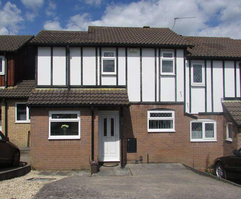 2 Bedrooms Terraced House for rent in St Pierre Close, St Mellons, Cardiff. CF3 0LG
