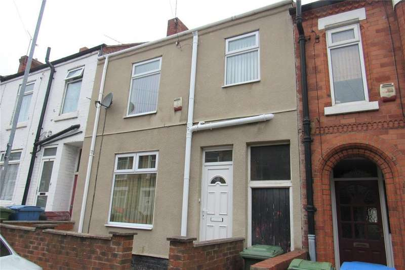 2 Bedrooms Terraced House for sale in Bishop Street, Mansfield, Nottinghamshire, NG18
