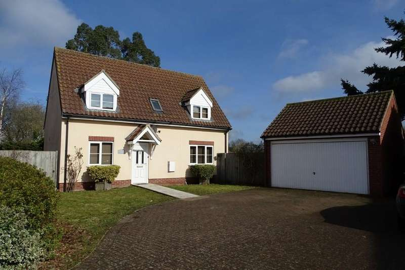 3 Bedrooms Detached House for rent in Wentworth Close, Weeting