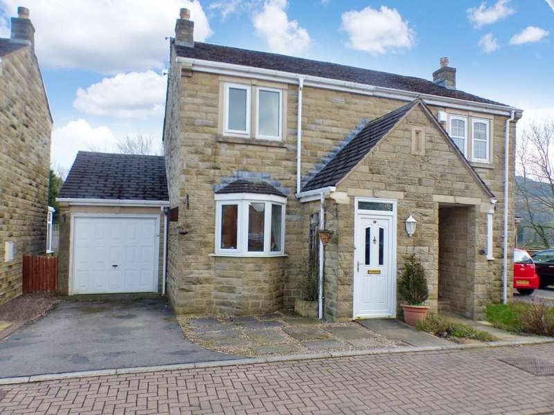 2 Bedrooms Semi Detached House for sale in Westland Close, Cross Hills