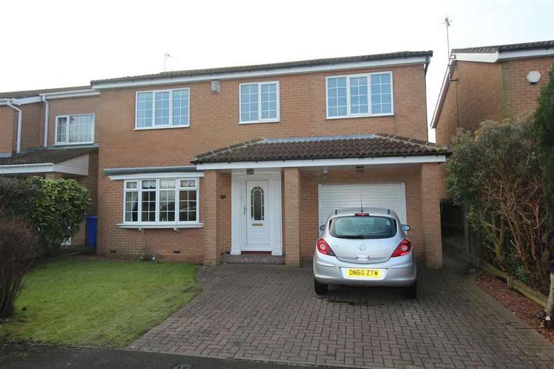 4 Bedrooms Detached House for sale in Yarmouth Drive, Westwood Grange, Cramlington