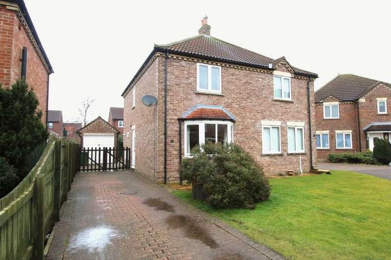 2 Bedrooms Semi Detached House for rent in West End Gardens, Nafferton, Driffield, YO25