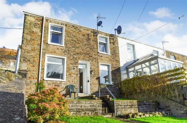3 Bedrooms End Of Terrace House for sale in Craig-Fryn Terrace, Nantymoel, Bridgend, Mid Glamorgan