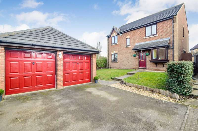4 Bedrooms Detached House for sale in Monkston