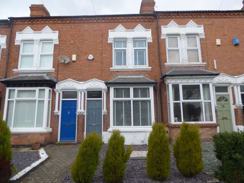 3 Bedrooms Terraced House for sale in Victoria Road, Harborne, Birmingham, B17 0AH
