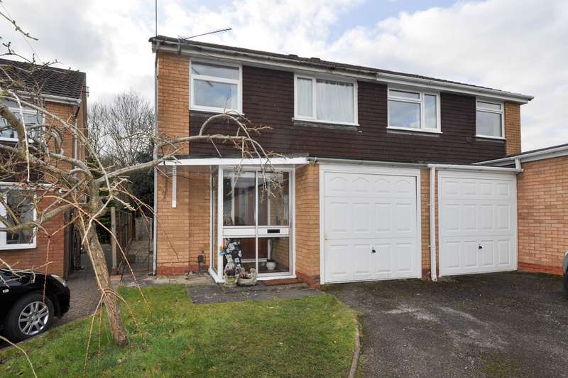 3 Bedrooms Semi Detached House for sale in Little Acre, Hunt End, Redditch, B97