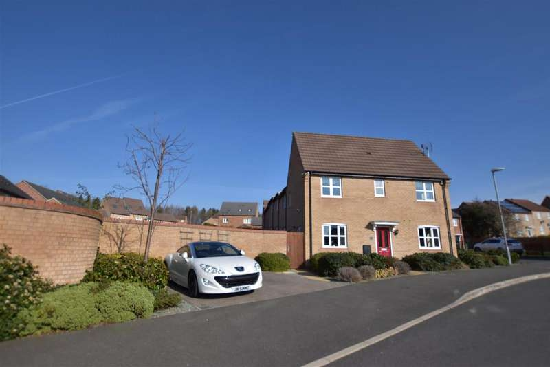 3 Bedrooms Detached House for sale in Maynard Close, Loughborough