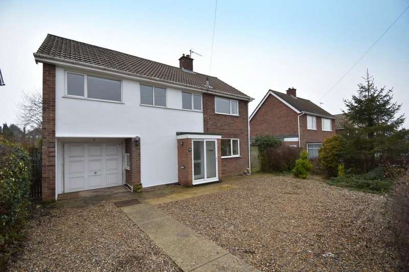 4 Bedrooms Detached House for sale in Larchcroft Close, Ipswich, IP1 6PG