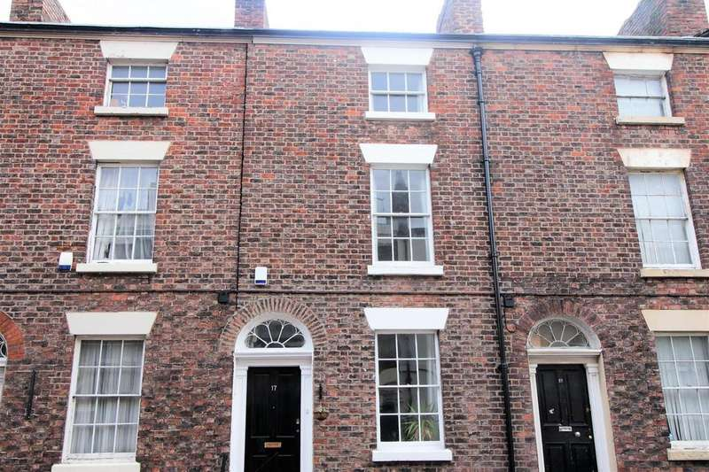 4 Bedrooms Town House for sale in 17 St Bride Street, Liverpool, L8 7PL